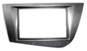 Seat Leon 2005- rádióbeépítő keret Dupla ISO 572290-TT