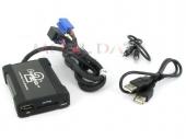 Skoda MP3/USB/SD/AUX illesztő Mini ISO csatlakozóval szerelt rádiókhoz 44USKS001