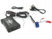 Skoda MP3/USB/SD/AUX illesztő Quadlock csatlakozóval szerelt rádiókhoz 44USKS003