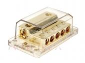 Táp elosztó blokk negatívhoz 2x35-50mm2 bemenet + 5x20 mm2 kimenet 30.3601-03
