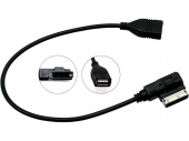 USB adapter AMI foglalathoz, Audi, Seat, Skoda, VW CT29AU07