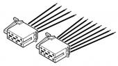 ISO rádiócsatlakozó+ hangszórókábel 552072
