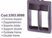 Univerzális dupla keret húzó-nyomó kapcsolóhoz 33030098