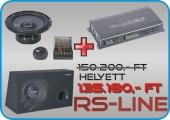 Gladen Audio RS akciós autóhifi csomag