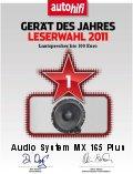 AUDIO SYSTEM MX 165 Plus hangszórószett az Év Készüléke 2011-ben 100 Euro alatt