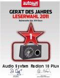 AUDIO SYSTEM RADION 10 PLUS subwoofer az Év Készüléke 2011-ben 150 Euro alatt