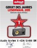 AUDIO SYSTEM X--ION 12-800 BR subwoofer az Év Készüléke 2011-ben 150-300 Euro között