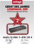 AUDIO SYSTEM X--ION 160.4 négycsatornás autóhifi erősítő