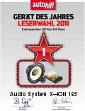 AUDIO SYSTEM X--ION 165 hangszórószett az Év Készüléke 2011-ben 100-200 Euro között
