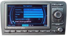AUDI Navigation Plus fejegység
