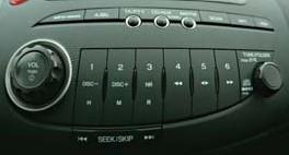Honda OEM autórádió