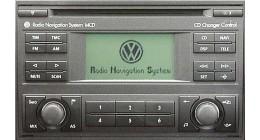 VW MCD Navigation fejegység
