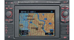 VW MFD Navigation fejegység