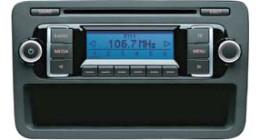 VW RCD 210 fejegység